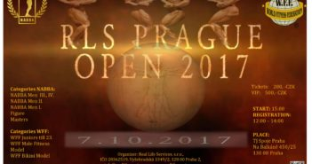 Plakát RLS PRAGUE OPEN