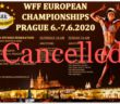 WFF EUROPEAN CANCELLED
