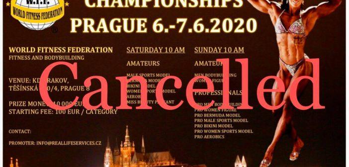 WFF EUROPEAN CANCELLED